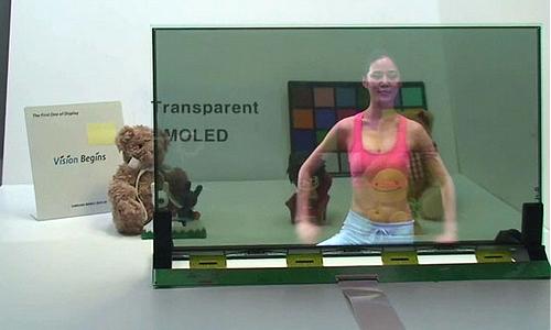 Transparentní monitor