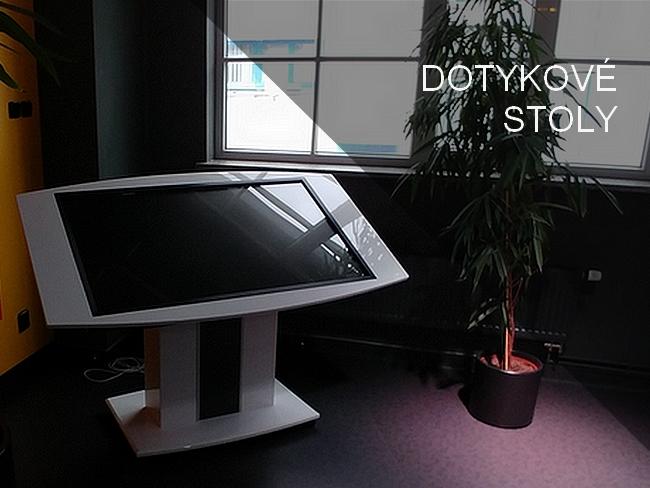 Dotykové stoly