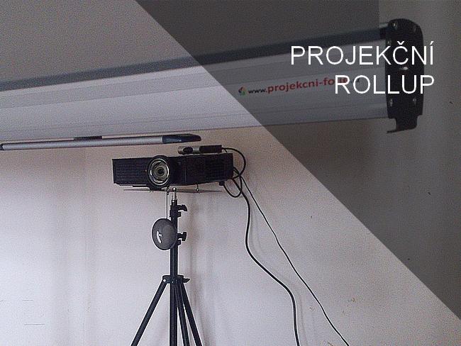 Projekční RollUp